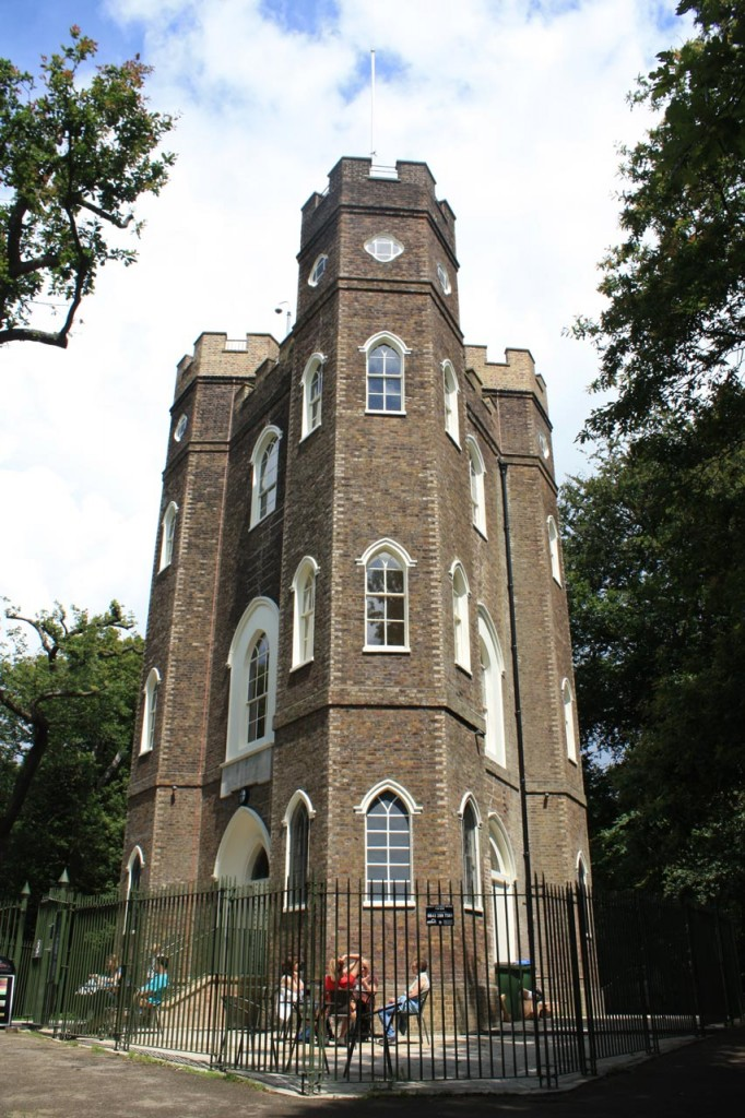 The restored Severndroog Castle