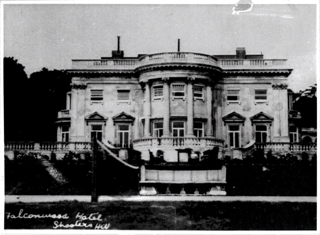Picture of the Falconwood Hotel from Greenwich Heritage Centre