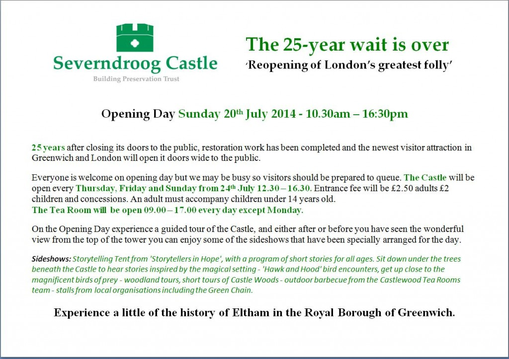 Severndroog Opening Poster