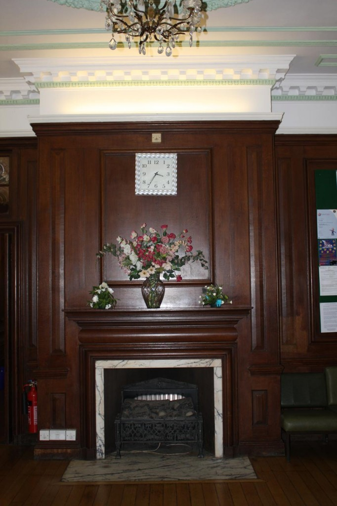 Shrewsbury House entrance hall