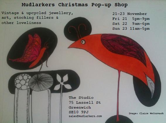 Mudlarkers Christmas Posterhop psoter
