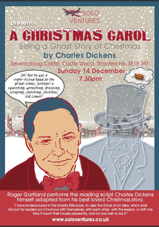 A Christmas Carol at Severndroog Castle poster