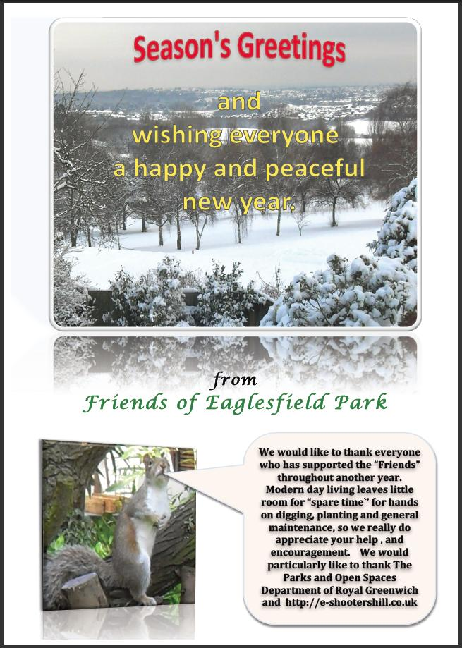 Friends of Eaglesfield Park Christmas