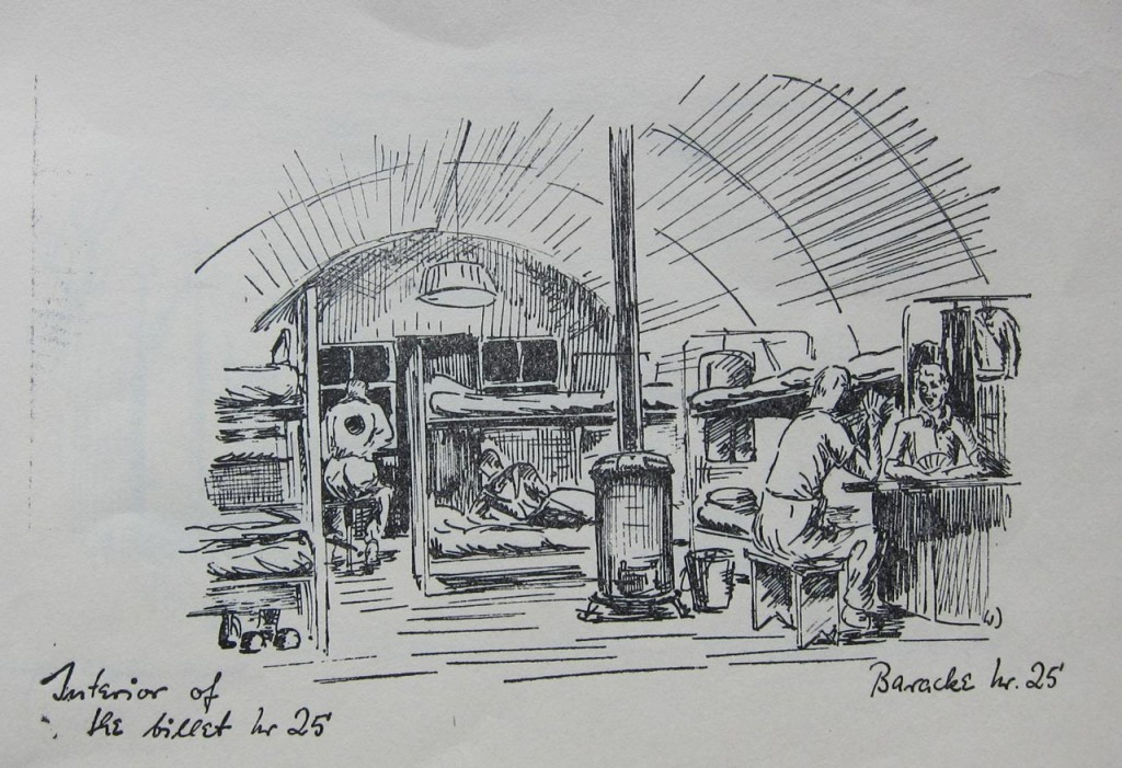 Wolfram Dörge's picture of the inside of a hut at Camp 1020