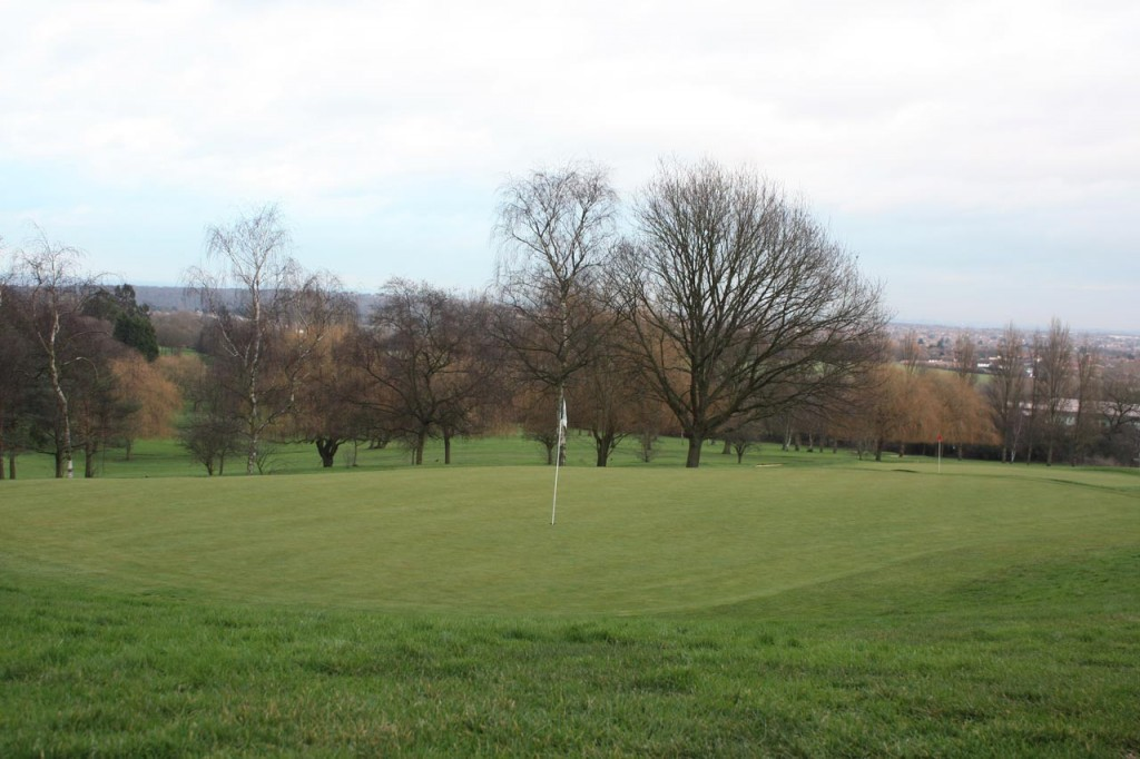 The 17th Green at Shooters Hill Golf Club