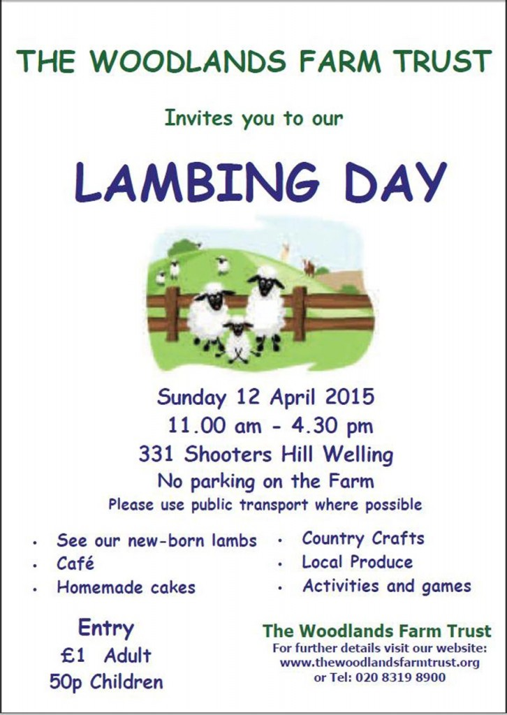 Lambing Day 2015 Poster