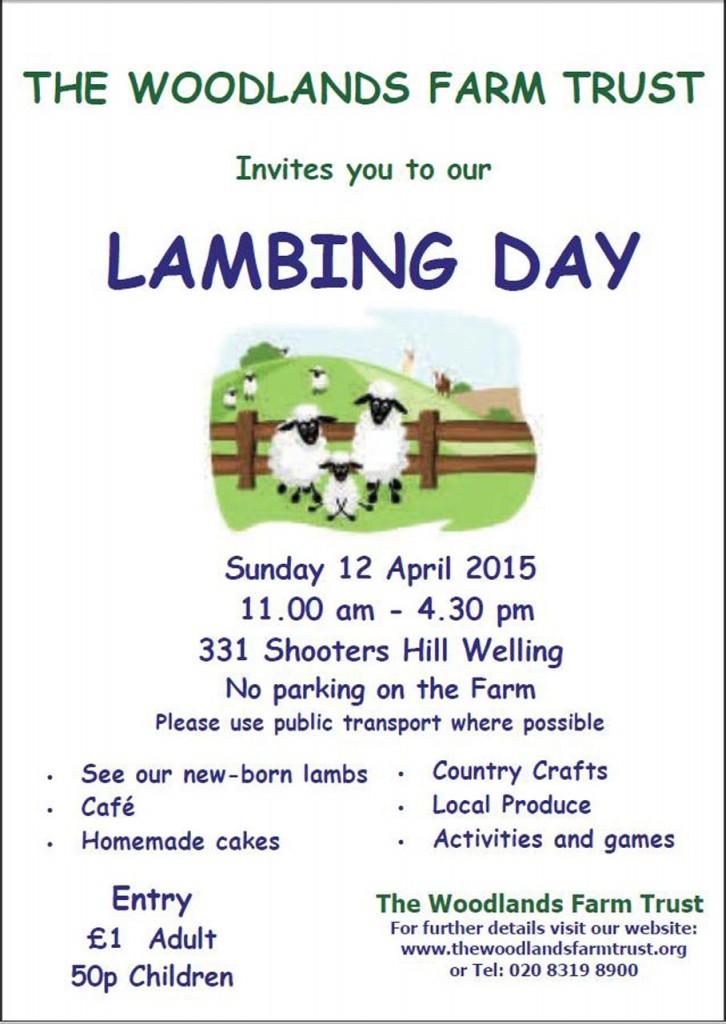 Lambing Day 2015 Poster