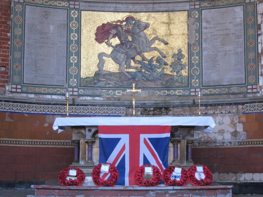 Remembrance Sunday, St George's Garrison Church Woolwich