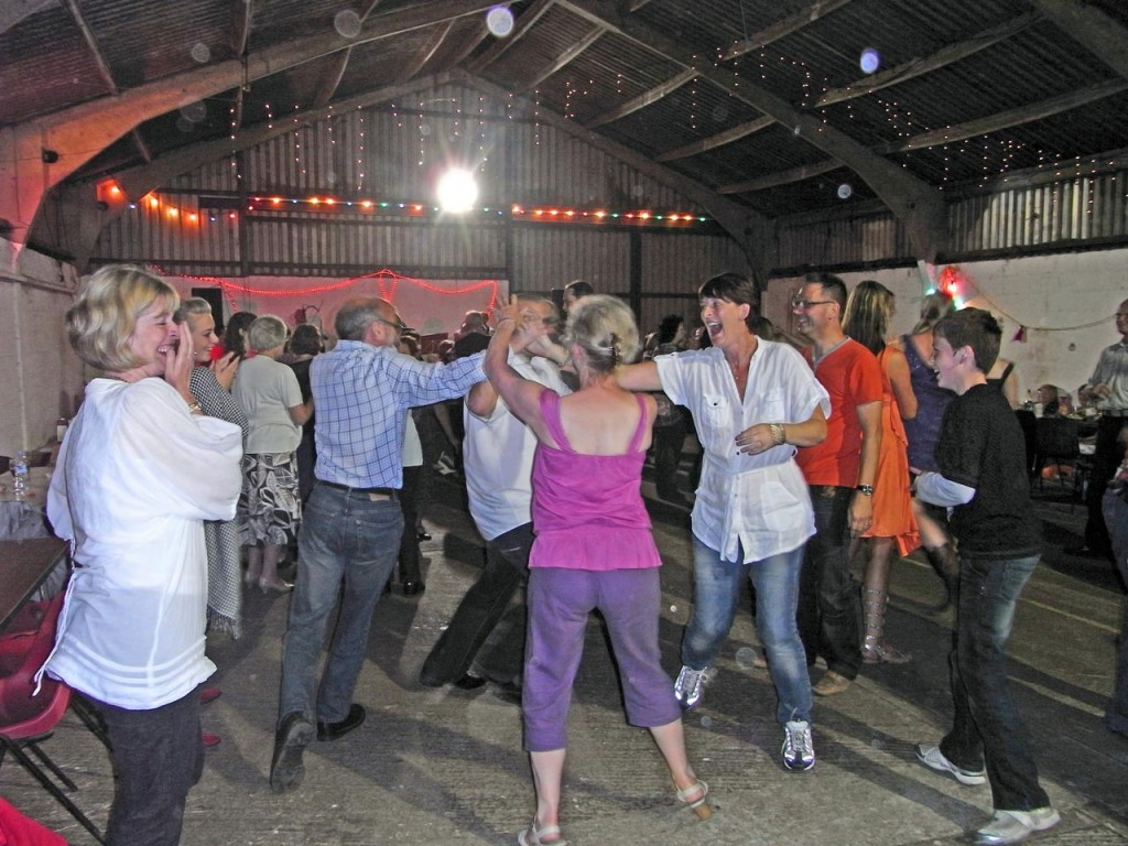 Barn dance at Woodlands Farm