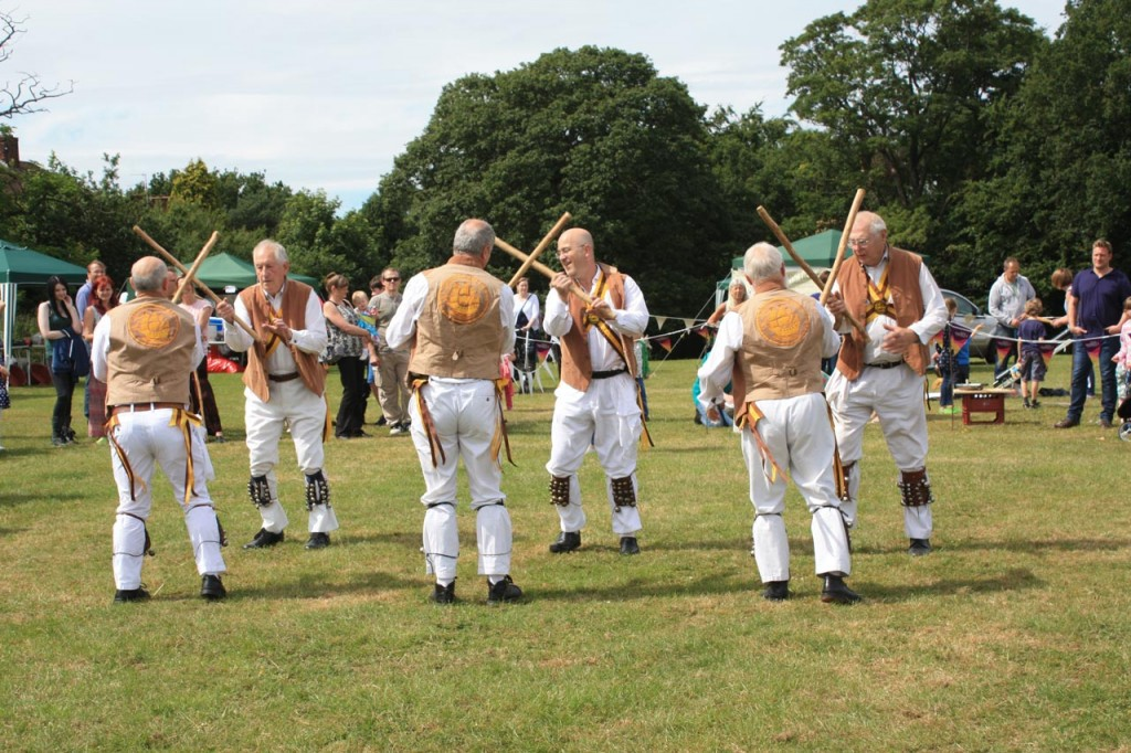 Greenwich Morris Men at Shrewsbury Park Summer Festival