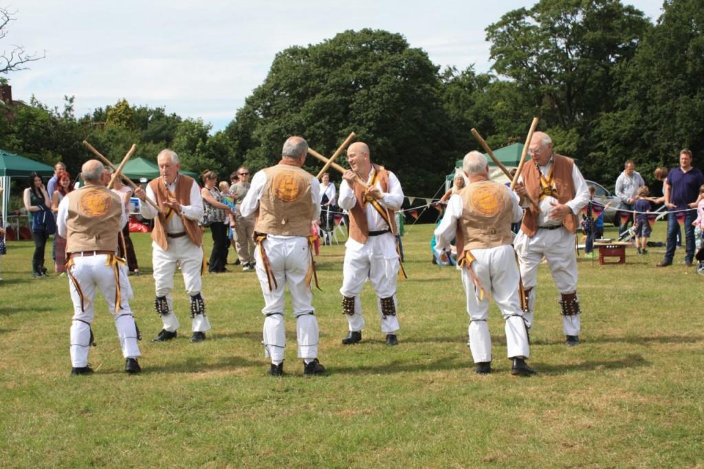 Greenwich Morris Men at Shrewsbury Park Summer Festival