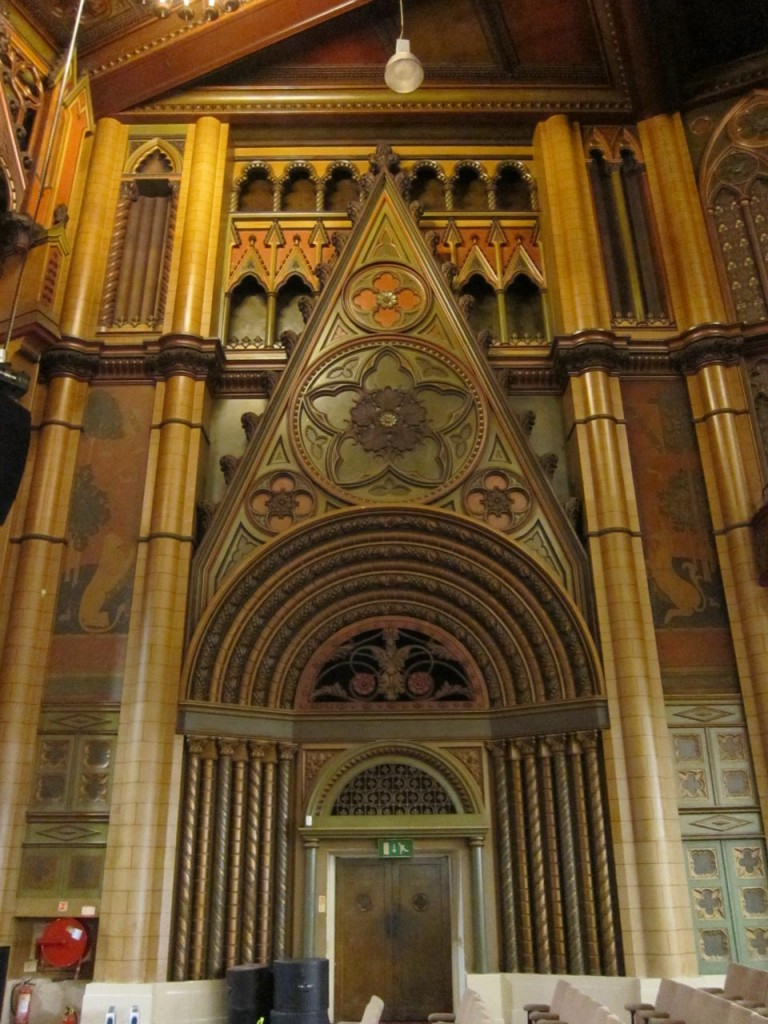 Detail of auditorium at Christ Faith Tabernacle Cathedral, formerly Woolwich Granada Cinema