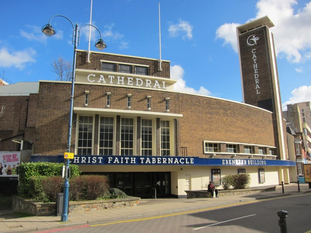 Christ Faith Tabernacle Cathedral, formerly Woolwich Granada Cinema