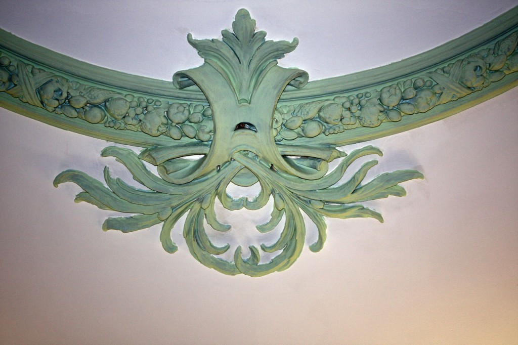 Detail of moulding at Shrewsbury House