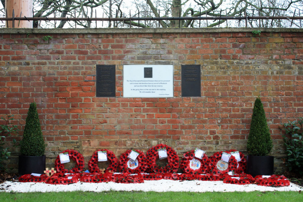 Memorial to the fallen of Woolwich