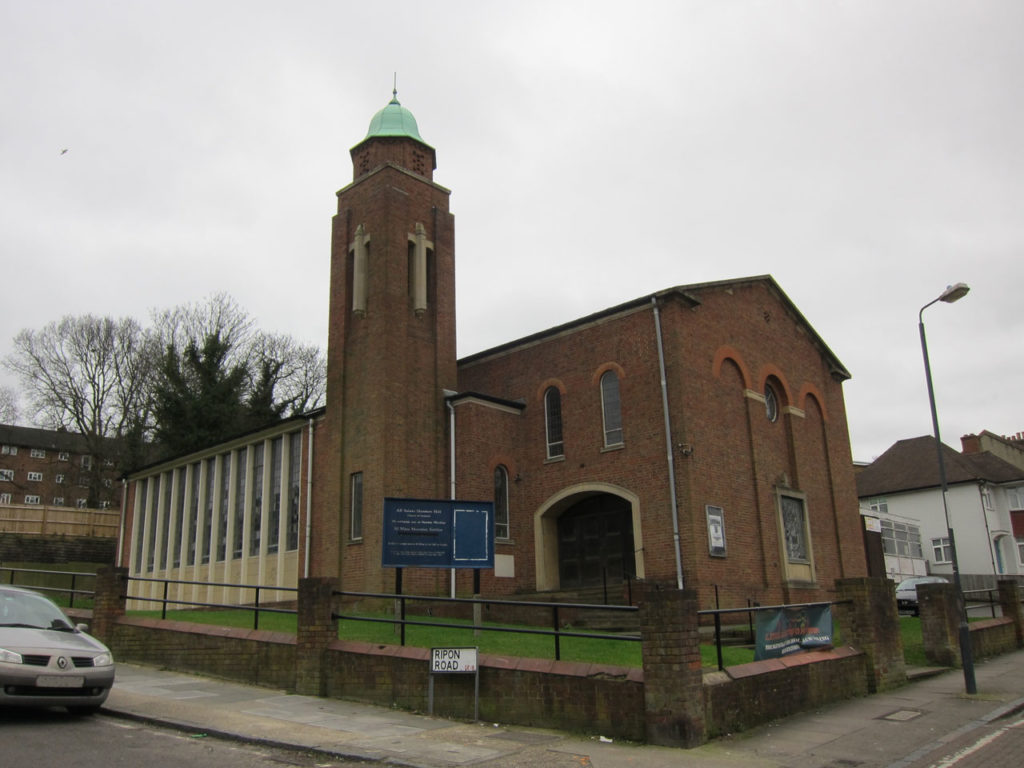 All Saints Church, Herbert Road