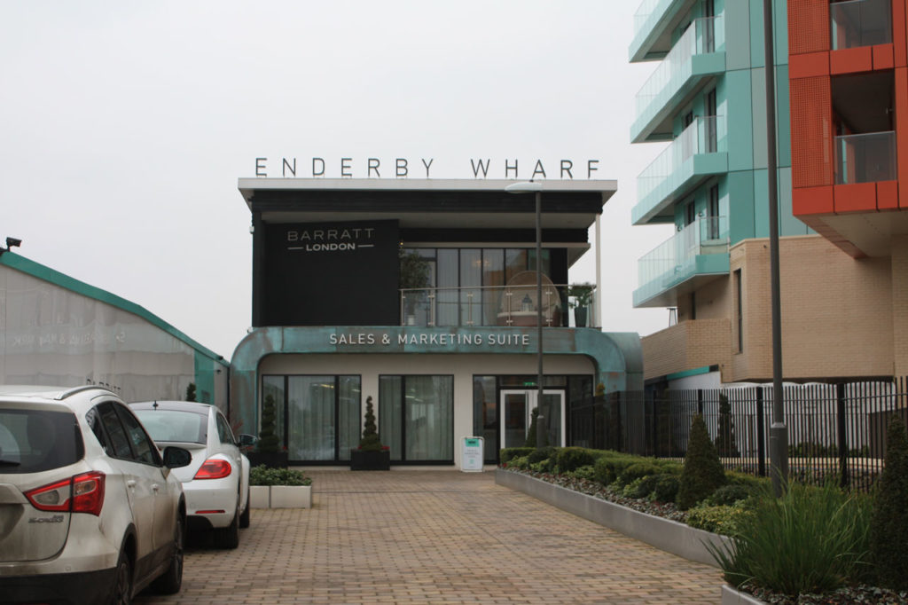 Enderby Wharf development