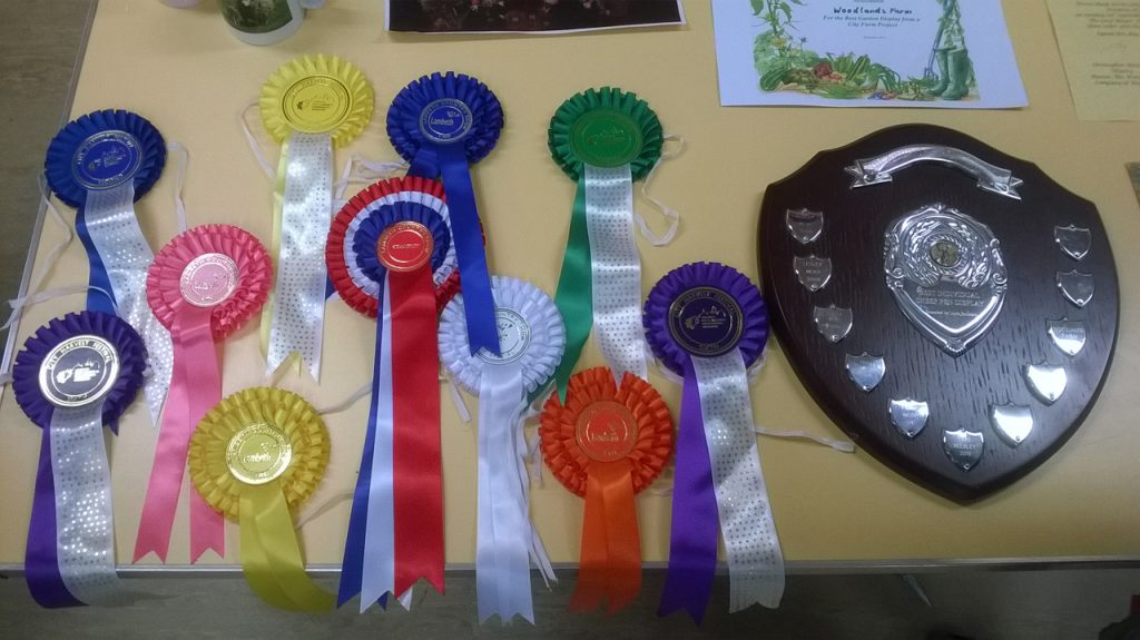 Some of the farm's awards this year