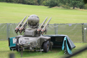 Rapier Missile Battery on Oxleas Meadow during 2012 Olympics