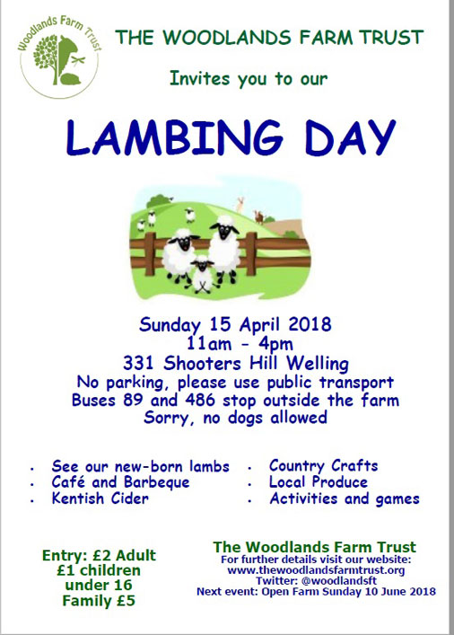 Lambing Day 2018 Poster
