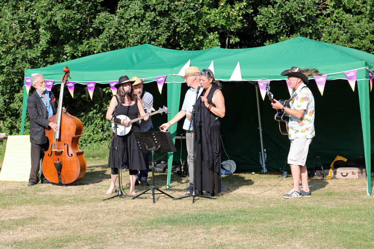 Pytchwood and the Gillies at the 2017 Shrewsbury Park Summer Festival
