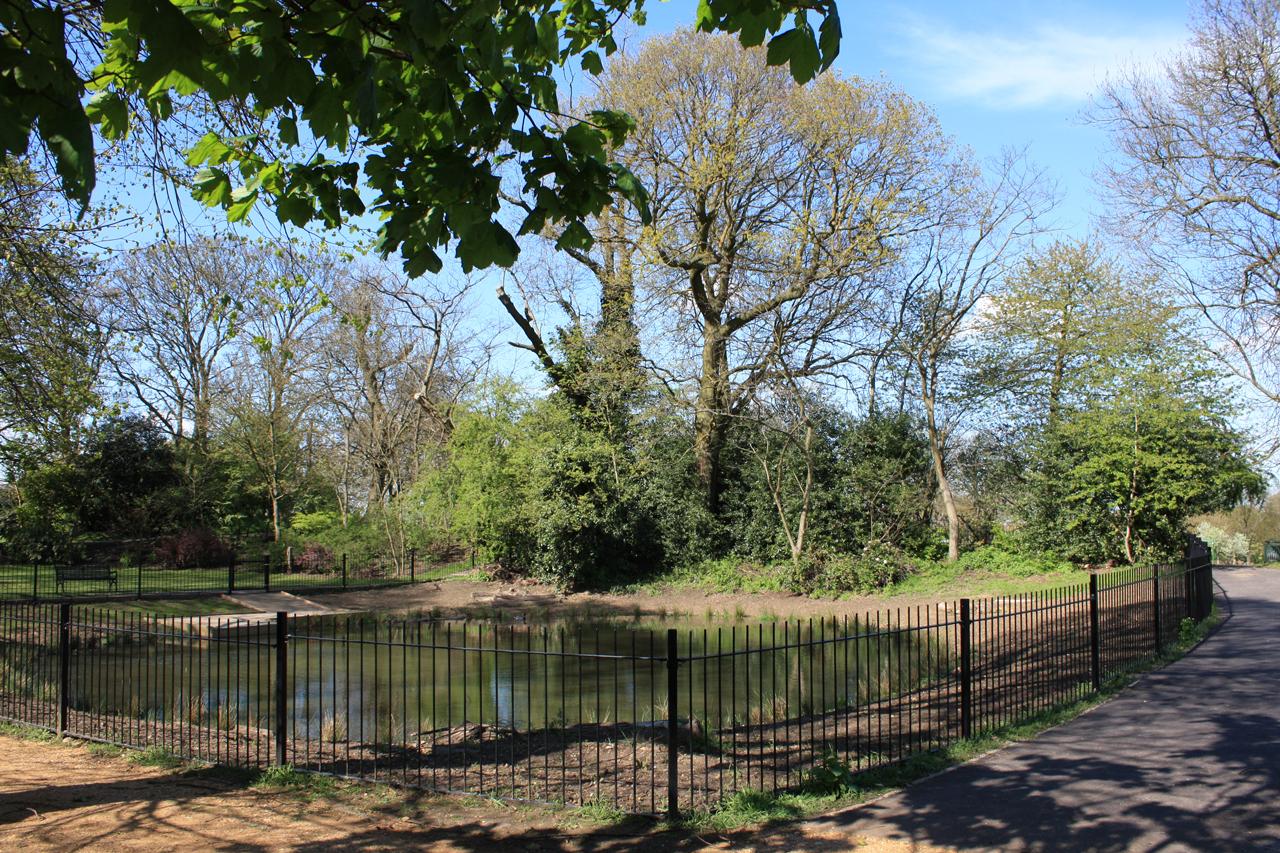 Eaglesfield-Park-Lilly-Pond-end-of-April-2012